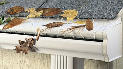 williamson gutters leaf protection